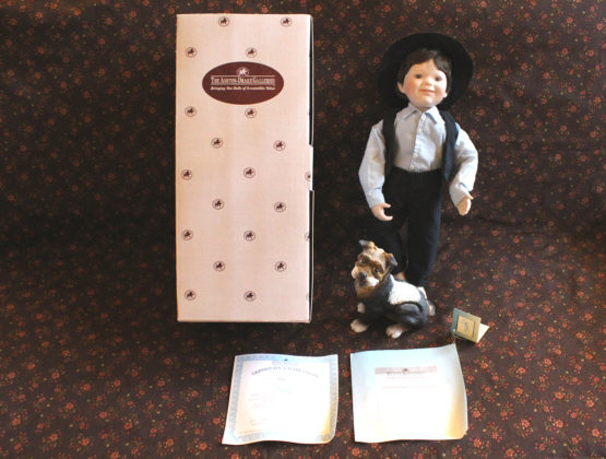 Vintage Ashton-Drake Galleries Seth Amish Inspirations Doll | Whispering City RVA
