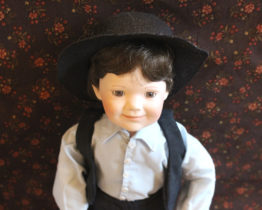 Vintage Ashton-Drake Galleries Seth Amish Inspirations Doll | Whispering City RVA