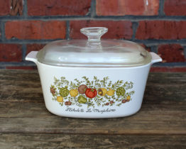 Vintage Corning Ware Spice O' Life La Marjolaine 3 Qt Casserole w/ Lid | Whispering City RVA