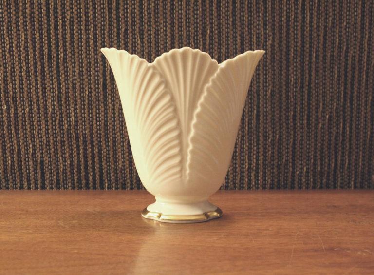 Vintage Lenox Corinthian Porcelain Flower Vase | Whispering City RVA