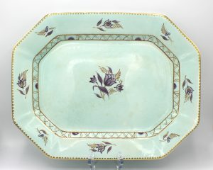 Vintage 1950s Adams Calyx Ware 14″ Oval Serving Platter | Whispering City RVA