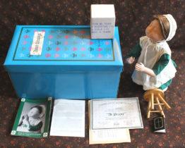 Vintage Ashton-Drake Amish Blessings porcelain soft body doll at Whispering City RVA