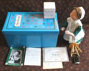 Vintage Ashton-Drake Galleries At Prayer Amish Blessings Doll | Whispering City RVA