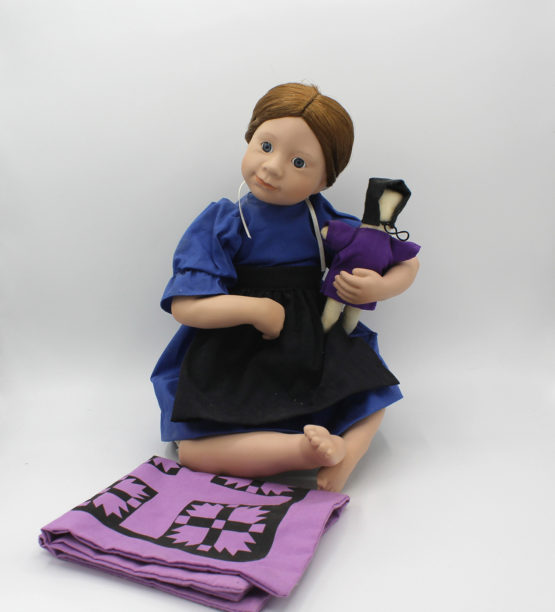 Vintage Ashton-Drake Galleries Rebeccah Amish Blessings Doll | Whispering City RVA