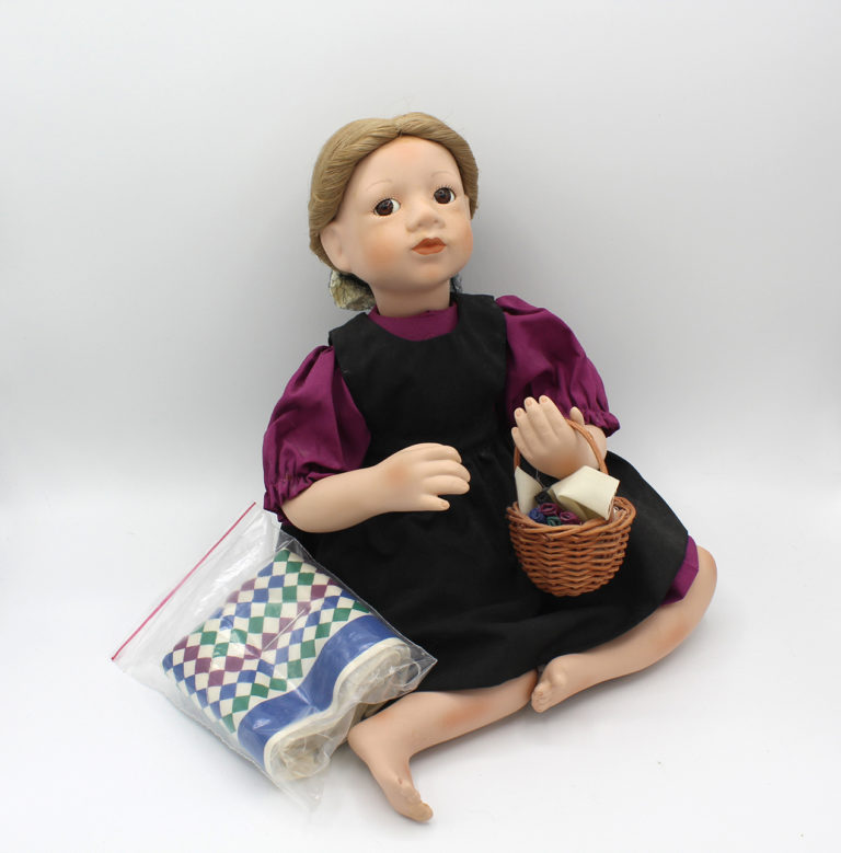 Vintage Ashton-Drake Galleries Ruth Amish Blessings Doll w/ COA | Whispering City RVA
