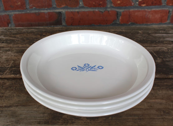 Vintage Corning Ware Blue Cornflower 9″ Pie Baking Dish | Whispering City RVA