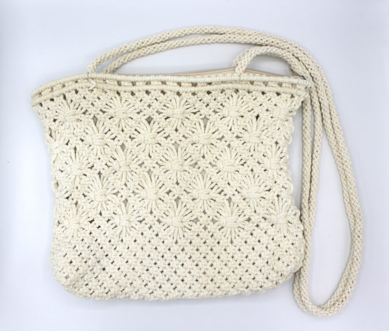 Vintage Handmade Crochet Knit Purse | Whispering City RVA