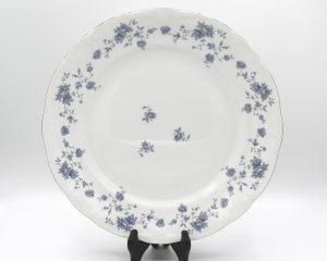 Vintage Johann Haviland Blue Garland (Traditions) 10″ Dinner Plates Set | Whispering City RVA