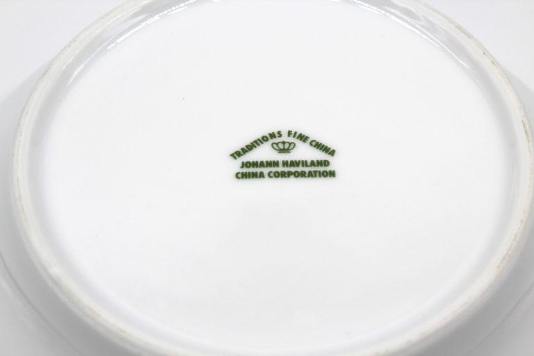 Vintage Johann Haviland Blue Garland (Traditions) 8″ Vegetable Bowl   Whispering City RVA
