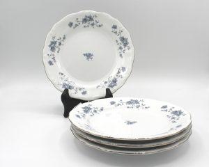 Vintage Johann Haviland Blue Garland (Traditions) Bread & Butter Plates Set | Whispering City RVA