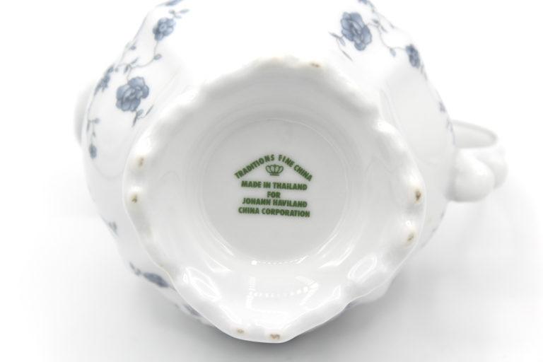 Vintage Johann Haviland Blue Garland (Traditions) 10 oz Creamer   Whispering City RVA