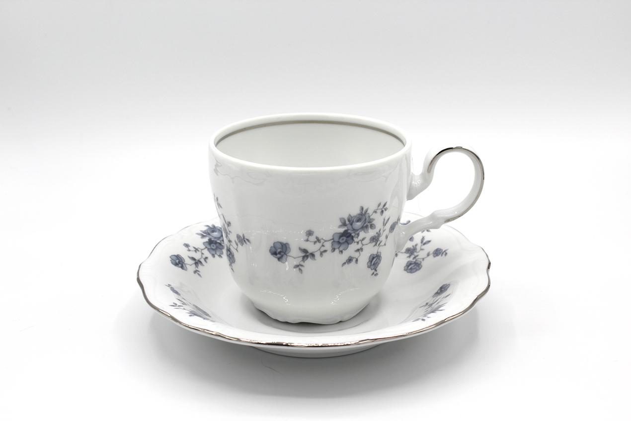 Vintage Johann Haviland Traditions Blue Garland Fine China Dinnerware at Whispering City RVA