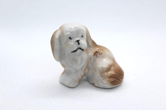 Vintage Japanese Shih Tzu Puppy Dog Miniature   Whispering City RVA
