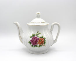 Vintage fine china teapot at Whispering City RVA