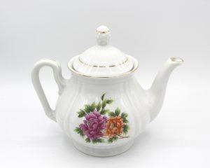 Teapots, Cream & Sugars