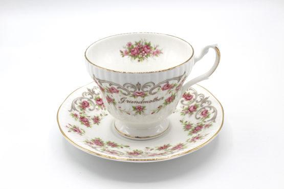 Vintage 1960s Royal Dover Grandmother Teacup & Saucer Set | Whispering City RVA