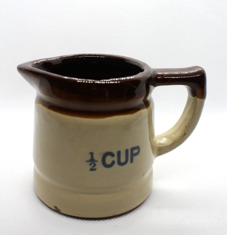 Vintage Stoneware Pottery Measuring Cups Set | Whispering City RVA