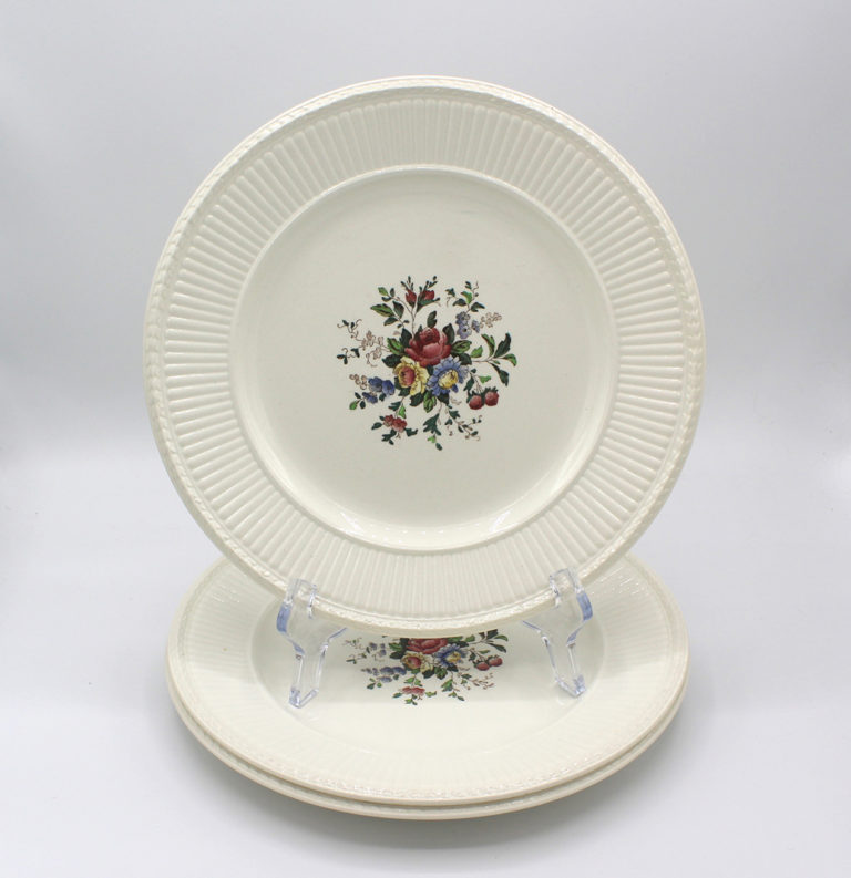 Vintage 1930s Wedgwood Conway Edme Luncheon Plates Set | Whispering City RVA