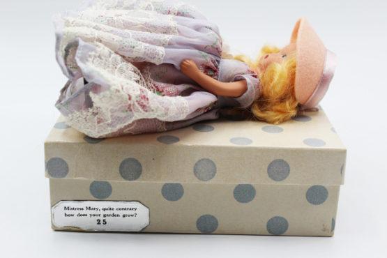 Vintage Nancy Ann Storybook Doll (NASB) Mistress Mary #25 | Whispering City RVA