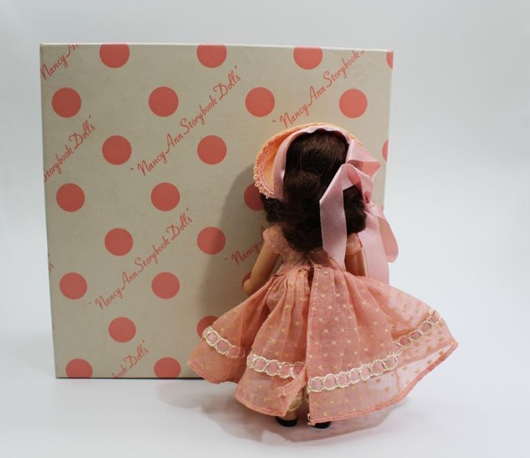 Vintage Nancy Ann Storybook Doll (NASB) Little Miss, Sweet Miss #110 | Whispering City RVA