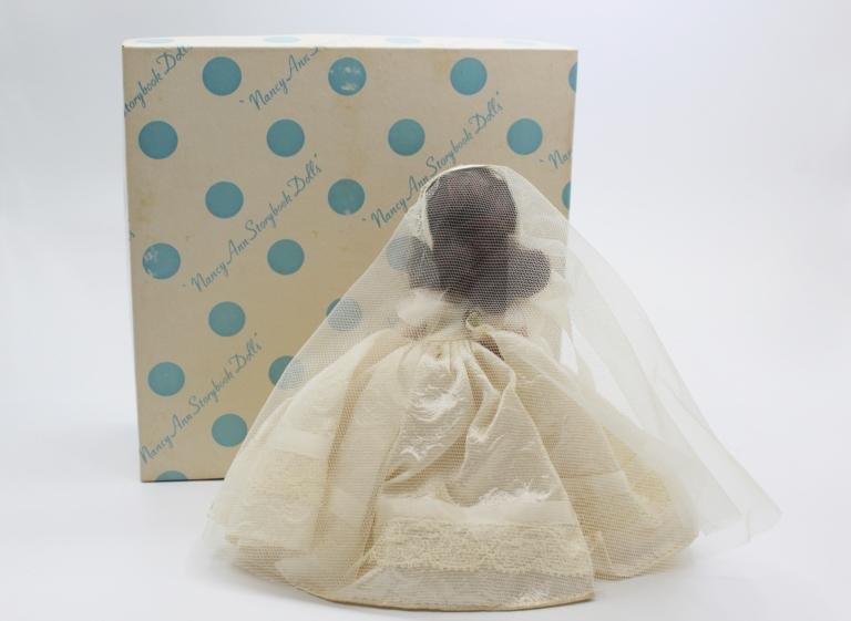 Vintage Nancy Ann Storybook Doll (NASB) Bride #86 | Whispering City RVA