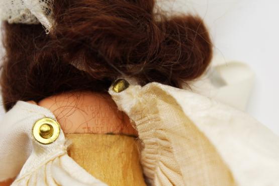 Vintage Nancy Ann Storybook Doll (NASB) Bride #86   Whispering City RVA