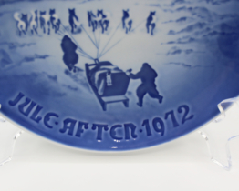 1972 B&G Bing & Grondahl Christmas in Greenland Collectors Plate | Whispering City RVA