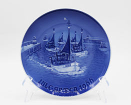 1966 B&G Bing & Grondahl Home for Christmas Collectors Plate | Whispering City RVA