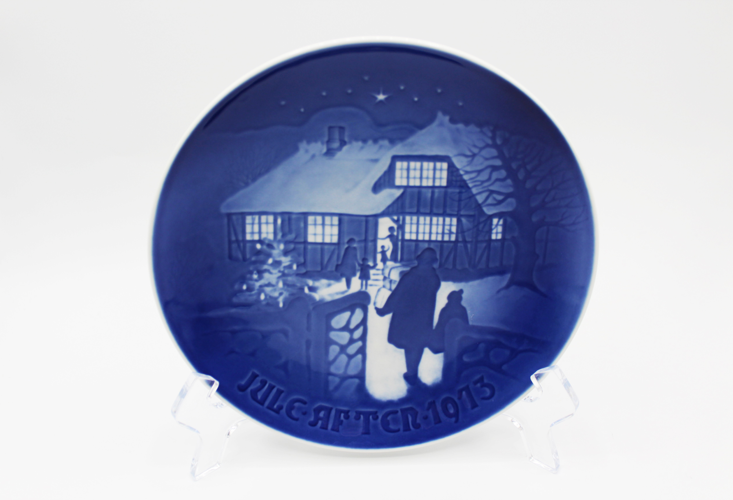 1973 B&G Bing & Grondahl Country Christmas Collectors Plate | Whispering City RVA