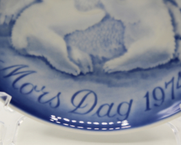 1974 Bing & Grondahl Mors Dag Mother's Day Collectors Plate at Whispering City RVA