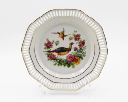 Antique Schumann Pheasant Plate | Whispering City RVA