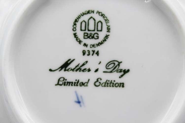 1974 B&G Mors Dag Collectors Plate | Whispering City RVA