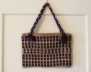 Vintage Handmade Crochet Knit Purse | Whispering City RVA