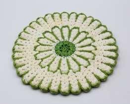 1940s Vintage Handmade Crochet Doily | Whispering City RVA