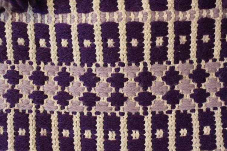 Vintage Handmade Crochet Knit Purse   Whispering City RVA