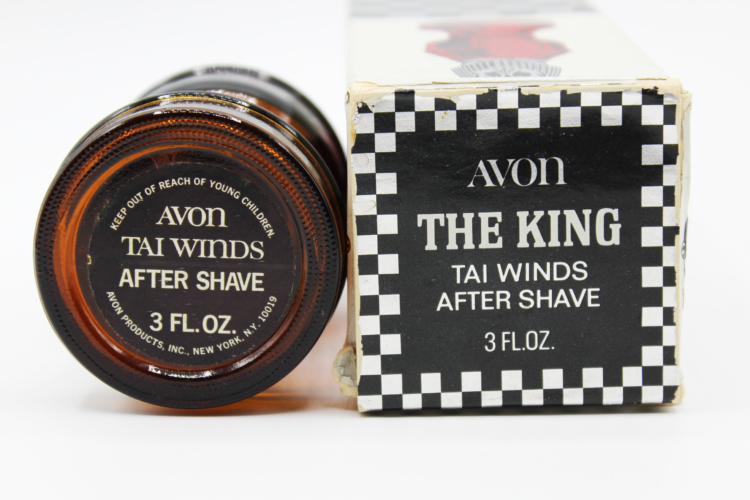Vintage Avon The King Chess Piece Amber After Shave Decanter Bottle | Whispering City RVA