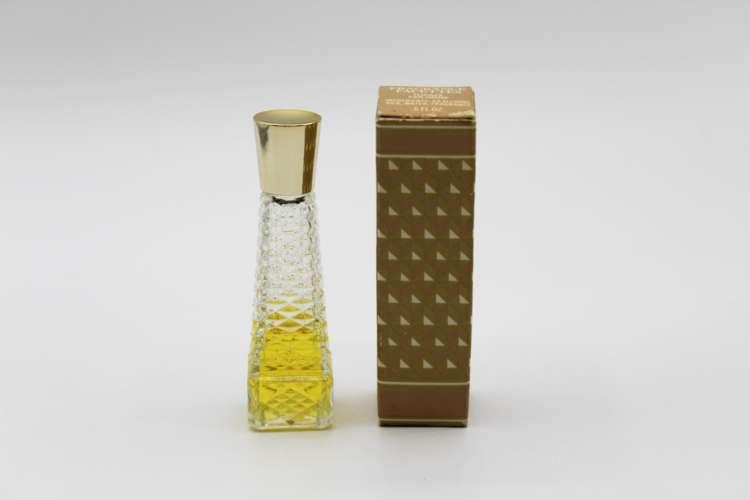 Vintage Avon Topaze Cologne Fragrance Facettes .5 oz | Whispering City RVA