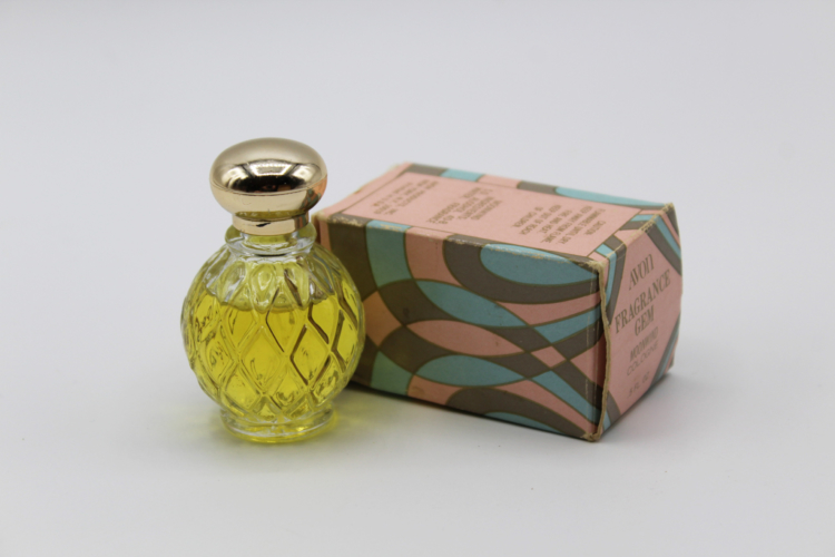 Vintage Avon Moonwind Cologne Fragrance Gem .5 oz | Whispering City RVA