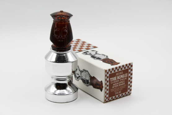 Vintage Avon The King II Chess Piece After Shave Decanter Bottle | Whispering City RVA