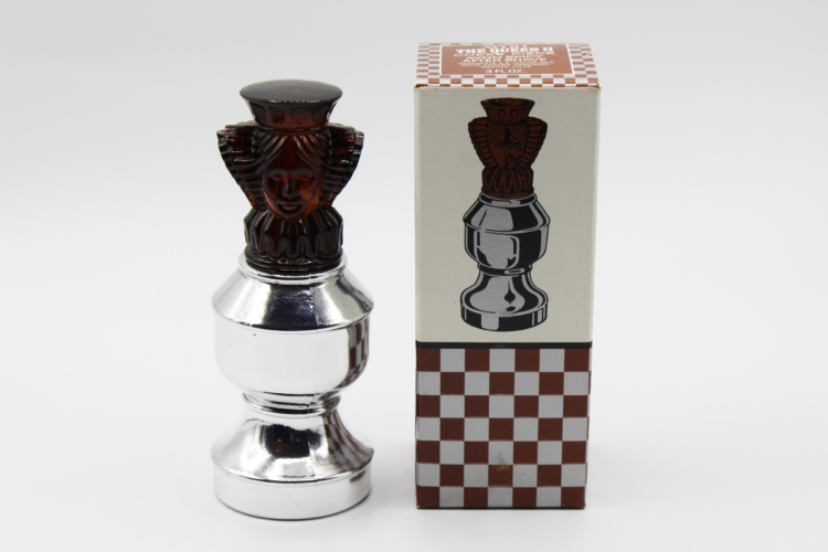 Vintage Avon The Queen II Chess Piece After Shave Decanter Bottle | Whispering City RVA